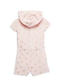 Juicy Couture Little Girl's Hooded Romper