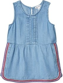 Splendid Littles Embroidered Chambray Dress (Toddl