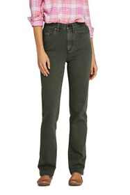 Lands End Women's High Rise Straight Leg Colorful