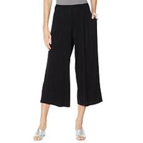"""""""As Is"""" WynneLayers Pleat Front Pull-On Knit Cropp"""