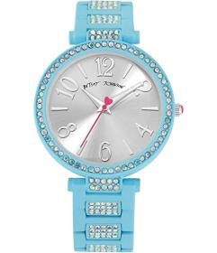 Betsey Johnson Linked Love Watch