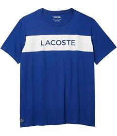 Lacoste Short Sleeve Graphic Cotton Tee