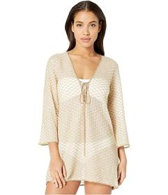 Missoni Mare Solid Rhomboid Tunic Cover-Up