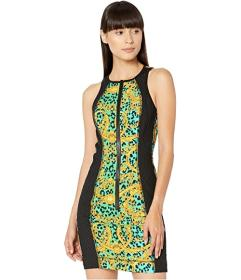 Versace Jeans Couture Leo Chain Print Zip Front Ta