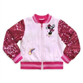 Disney Minnie Mouse Varsity Jacket for Girls