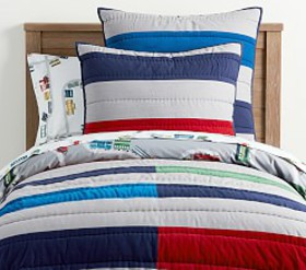Pottery Barn Colin Stripe Euro Sham