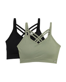 XOXO 2pk Plus Seamless Lounge Bra