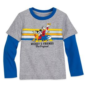 Disney Mickey Mouse and Friends Long Sleeve Layere