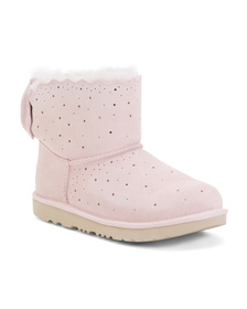 Reveal Designer Starry Shearling Lined Suede Booti