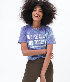 Aeropostale We're All In This Together Tie-Dye