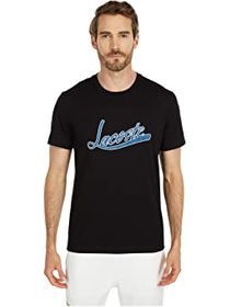 Lacoste Lacoste - Short Sleeve Solid Tee with Laco