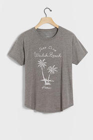Anthropologie Waikiki Graphic Tee