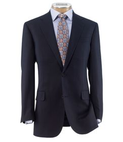 Jos Bank Traveler Tailored Fit 2-Button Sportcoat