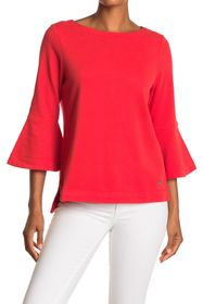 Tommy Bahama Sea Glass Bell Sleeve Knit Top
