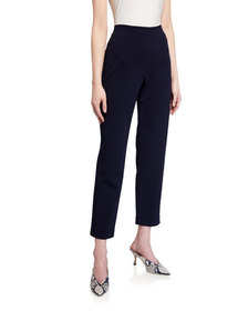 CALVIN KLEIN Pull-on Straight-Leg Pants