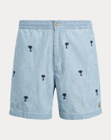 Ralph Lauren 6-Inch Chambray Polo Prepster Short