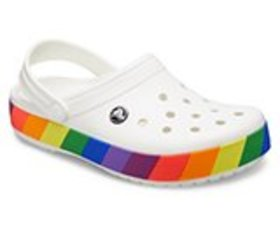 Crocband™ Rainbow Block Clog