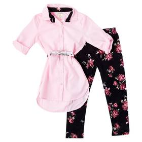 Girls (4-6x) One Step Up 2pc. Belted Tunic and Leg
