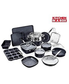 Titanium Diamond Infused Nonstick 20-Pc. Complete