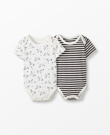 Hanna Andersson One Piece In Organic Cotton 2 Pack