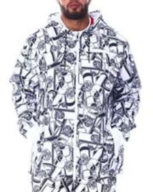Ecko spray life windbreaker (b&t)