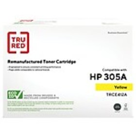 TRU RED™ HP 305A (CE412A) Yellow Remanufactured St