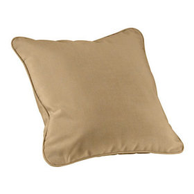 Outdoor Throw Pillow Cover - Select Colors