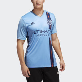 Adidas Men's Soccer Blue New York City FC Home Jer