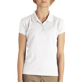 Dickies Girls School Uniform Short Sleeve Pique Po