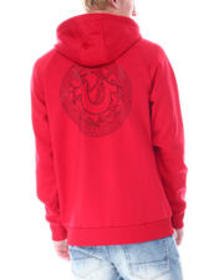 True Religion fashion branded logo zip hoodi