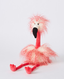Hanna Andersson Medium Flora Flamingo by Jellycat