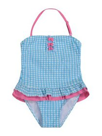 Tommy Bahama Baby Toddler Girl Gingham One-Piece T