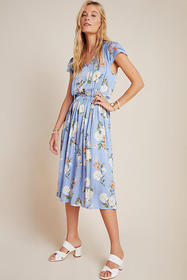 Anthropologie Felicity Midi Dress