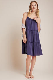 Anthropologie Etta Tiered Mini Dress