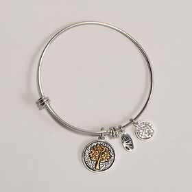 Womens Shine Families Are Like Branches Two-Tone B