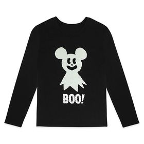 Disney Mickey Mouse Halloween Long Sleeve Reversib