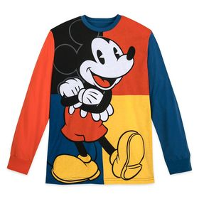 Disney Mickey Mouse Long Sleeve T-Shirt for Men