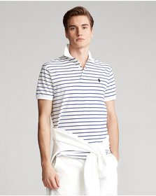 Ralph Lauren Custom Slim Stretch Mesh Polo