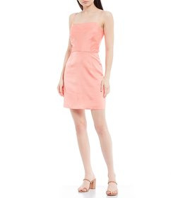 Gianni Bini Eleanor Square Neck Sleeveless Stretch