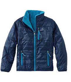 LL Bean Boys' Mountain Bound Reversible Jacket