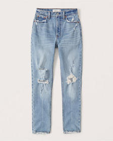 High Rise Skinny Jeans, RIPPED LIGHT WASH