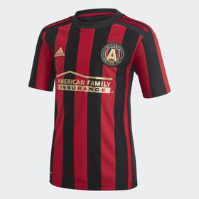 Adidas Youth Soccer Black Atlanta United FC Home J
