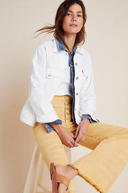 Anthropologie Levi's Ex-Boyfriend Denim Jacket