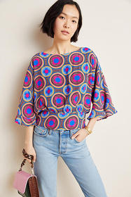Anthropologie Miro Dolman Blouse