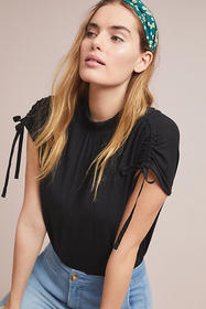 Anthropologie Kali Ruched Top