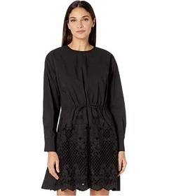 See by Chloe Geometric Embroidered Dress