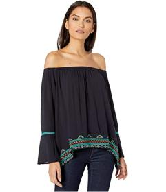 Wrangler Bell Sleeve with Embroidery