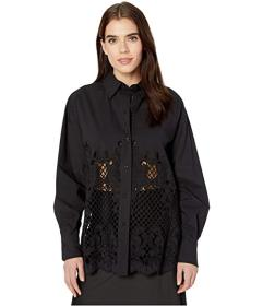 See by Chloe Geometric Embroidered Shirt