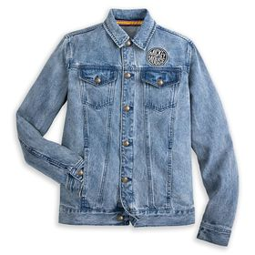Disney Mickey Mouse Denim Jacket for Adults