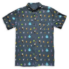 Disney World of Pixar Woven Shirt for Adults